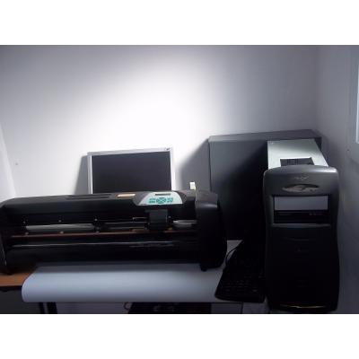 occasion traceur decoupe plotter summacut d60 r pc. Black Bedroom Furniture Sets. Home Design Ideas